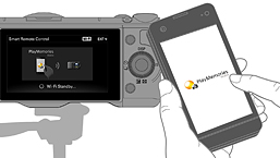 Smart Remote Control | PlayMemories Camera Apps